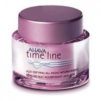 Антивозрастной ночной питательный крем AHAVA Time Line, Age Defying All Night Nourishment, 50 мл