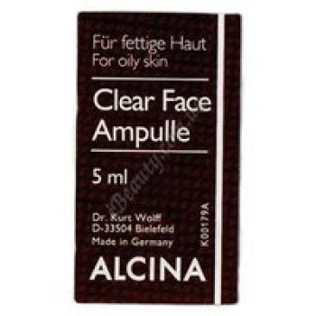 Очищающие ампулы для лица Alcina, 5 ml