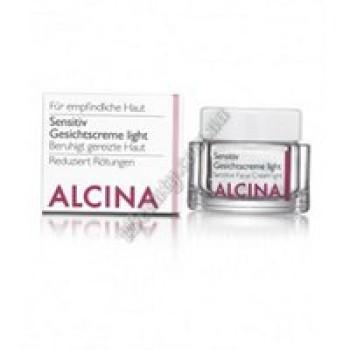 Крем для чувствительной кожи Сенситив лайт Alcina, 250 ml