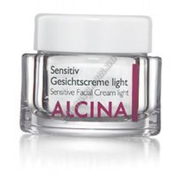 Крем для чувствительной кожи Сенситив лайт Alcina, 50 ml