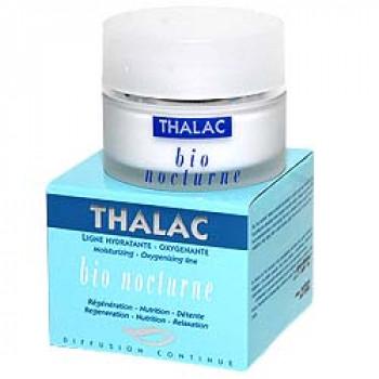 Крем питательный с альфа-эластином. Bio nocturne Thalac