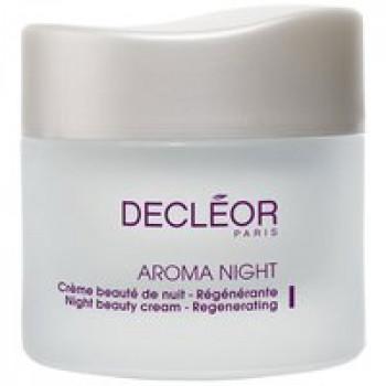Крем ночной восстанавливающий для всех типов кожи - Aroma Night Creme de Nuit Regenerante Decleor, 50 мл