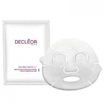 Маска осветляющая интенсивная НОВИНКА - Aroma White C+ Masque Tissu Eclaircissant Intense Decleor, 5 пакетов
