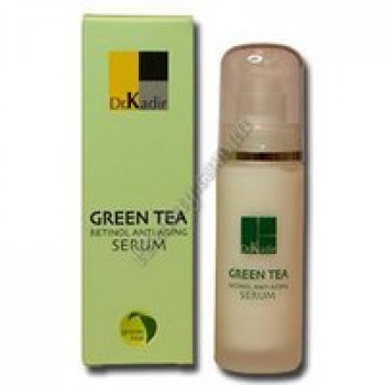 Сыворотка с Ретинолом - Green Tea-Retinol Anti-Aging Serum Dr. Kadir, 30 ml