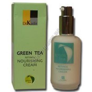 Питательный крем с ретинолом для сухой кожи - Green Tea-Retinol Nourishing Cream For Dry Skin Dr. Kadir, 50 ml
