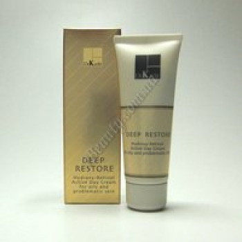 Дневной крем для жирной и проблемной кожи - DEEP RESTORE Day Cream For The Oily And Problematic Skin Dr. Kadir, 75 ml