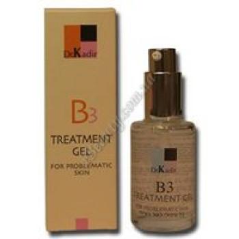 Лечебный гель для проблемной кожи - B3 Treatment Gel For Problematic Skin Dr. Kadir, 30 ml