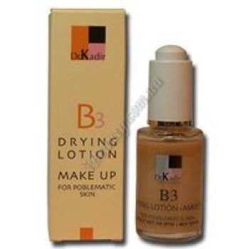 Тонирующая подсушивающая эмульсия для проблемной кожи - B3-Drying Lotion+Make Up Problematic Skin Dr. Kadir, 30 ml