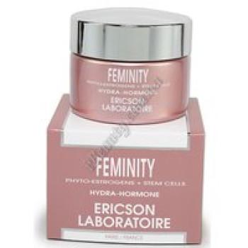 Увлажняющий крем Гидра-гормон с фитоэстрогенами - FEMINITY HYDRA-HORMONE CREAM Ericson, 50 мл