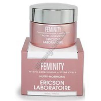 Питательный крем Нутри-гормон с фитоэстрогенами - FEMINITY NUTRI-HORMONE CREAM Ericson, 50 мл