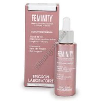 Восстанавливающая сурвивин-сыворотка - FEMINITY SURVIVIN SERUM Ericson, 30 мл