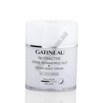 Восстанавливающий ночной крем с омега-комплексом Gatineau, бан. 50мл