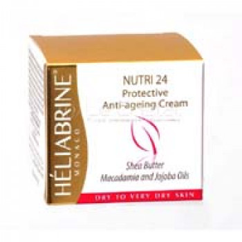 Увлажняющий и тонизирующий крем для сухой и очень сухой кожи Cream Nutri24 Heliabrine 50ml