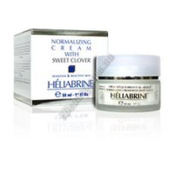 """Успокаивающий крем """"Сладкий клевер"""" для чувствительной, нормальной и сухой кожи - NORMALISING CREAM with SWEET CLOVER Heliabrine, 50 мл"""