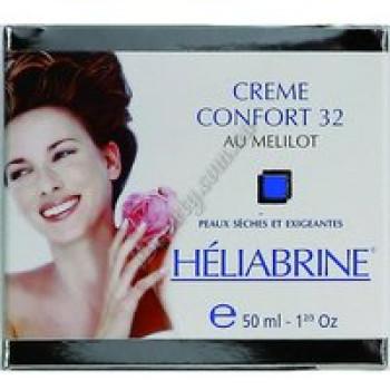Крем Комфорт 32 для чувствительной, сухой и очень сухой кожи - CREAM COMFORT 32 with SWEET CLOVER Heliabrine, 50 мл