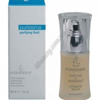 Антисеборейный флюид «Пурифинг» для кожи с жирной себореей / Purifying liquid fluid Kleraderm, 50 ml