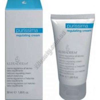 Себобалансирующий «Крем-регулятор» для жирной и комбинированной кожи / Regulating cream Kleraderm, 50 ml