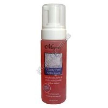 Клэрити Пил - Стимулирующая пенка для очищения и эксфолиации всех типов кожи - CLARITY PEEL AHA (15%) foam Magiray,  150ml