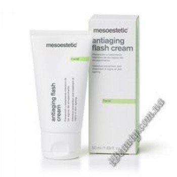 Омолаживающий крем против морщин - Antiaging flash cream, mesoestetic, 50 мл