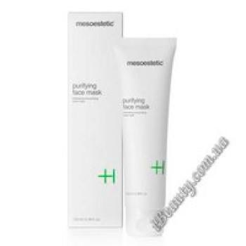 Очищающая маска для жирной и проблемной кожи - Purifying face mask, mesoestetic, 100 мл