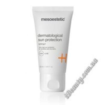 Дерматологический крем для защиты от солнца для комбинированной-жирной кожи 50+ - Dermatological sun protection, mesoestetic, 50 мл