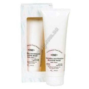 Медовая расслабляющая маска для увядающей, зрелой, дегидратированной и с недостаточным питанием кожи (HONEY RELAXING MASK Honey) M.Magi, 250 мл