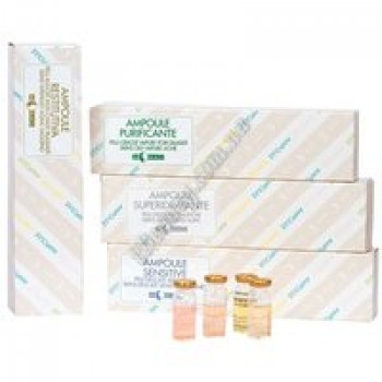 Ампулы для сухой, чувствительной кожи и кожи с куперозом (AMPOULE SENSITIVE)  M.Magi, 1 ампула 8 мл