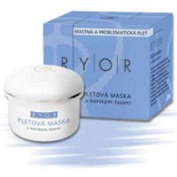 Маска для жирной кожи с морскими водорослями Ryor, 50 мл