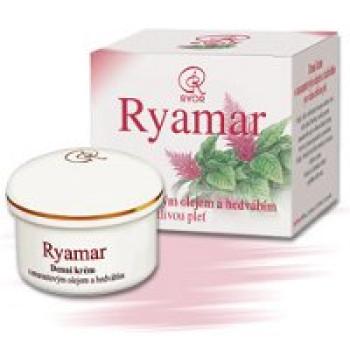 Дневной крем с амарант-м маслом и протеинами шёлка Ryor, 50 мл