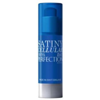 """Клеточный Анти Возрастной Защитный Крем """"Сатиновый Уход"""" SPF 15 Cellular Satiny Anti Aging Day Cream Swiss Perfection Швейцария"""