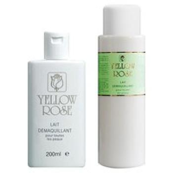 Молочко для снятия макияжа для всех типов кожи - Lait Demaquillant  Yellow Rose, 200мл