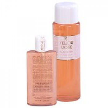 Очищающий гель для сухой и чувствительной кожи - Face wash pink   Yellow Rose, 200мл