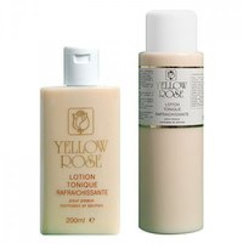 Освежающий тоник для сухой и нормальной кожи - Lotion Tonique Rafraichissante Yellow Rose, 200мл