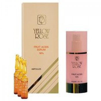 Гель-пилинг с АНА кислотами 10% - Fruits Acids Gel Yellow Rose, 30мл