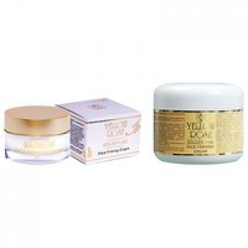 Подтягивающий крем - Golden Line -Face Firming Cream Yellow Rose, 50мл