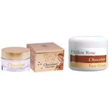 Энергетический шоколадный крем (ангиотонический) - Chocolate Face Cream Yellow Rose, 50мл