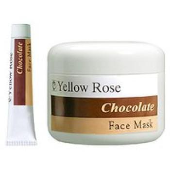 Энергетическая шоколадная маска (кремовая текстура) - Chocolate Face Mask Yellow Rose, 50мл