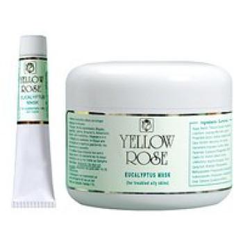 Лечебная маска с эвкалиптом для жирной кожи, с акне (регулирует раюботу сальных желез) - Eucalyptus Mask Yellow Rose, 50мл