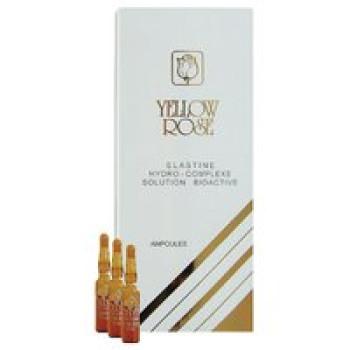 Сыворотка с эластином (увлажняет, тонизирует, возвращает эластичность) - Elastine Yellow Rose, 12 амп x 3мл