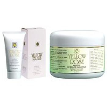 Увлажняющая, питательная маска красоты с каротином для сухой, нормальной и комбинированной кожи - Masque de Beaute Carotene Yellow Rose, 50мл