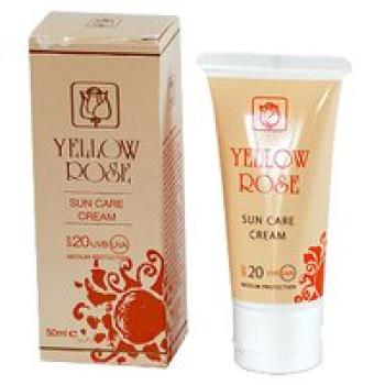Анти-возрастной солнцезащитный крем SPF 20 для всех типов кожи (питает, увлажняет) - Sun Care Cream SPF 20 Yellow Rose, 50мл