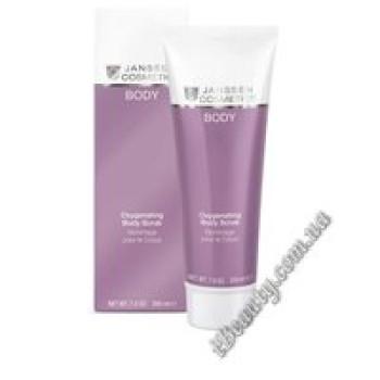 Кислородный гель-скраб для тела Oxygenating Body Scrub Janssen, 200 ml