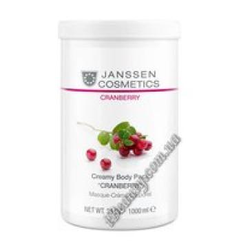"""Кремовое обёртывание """"Клюква"""" Creamy Body Pack""""CRANBERRY"""" Janssen, 1kg"""