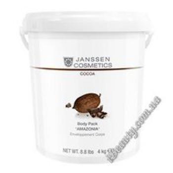 "Обертывание для тела с какао ""Амазонка"" Body Pack Cocoa "" Amazonia"" Janssen, 4kg"