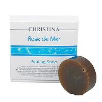 Мыльный пилинг Роз де Мер, 1 штука - Rose de Mer Soap Peel CHRISTINA, 55ml