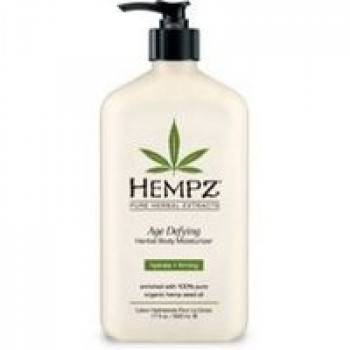 Противовозрастное увлажняющее растительное молочко для тела / Age Defying Herbal Moisturizer 530ml HEMPZ