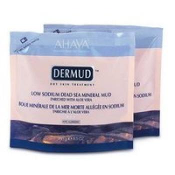 Минеральная грязь с Алоэ Вера  Ahava Dermud 4*250 гр