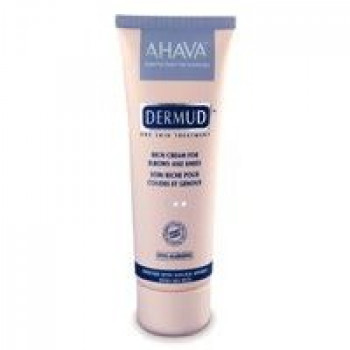 Крем питательный для кожи локтей и коленей - Ahava Dermud Cream for Elbows and Knees, 75 ml