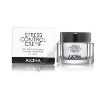 Крем для защиты кожи лица Stress Control Alcina, 50 ml