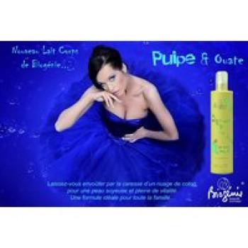 Увлажняющее молочко для тела - PULPE&OUATE Biogenie, 400 ml